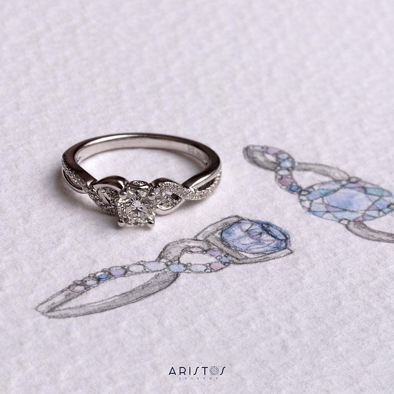 Diamante Corte Brillante
