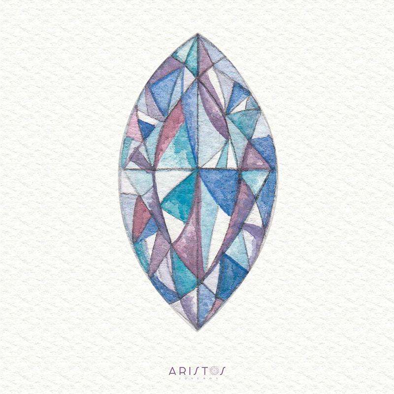 Diamante corte Marquesa
